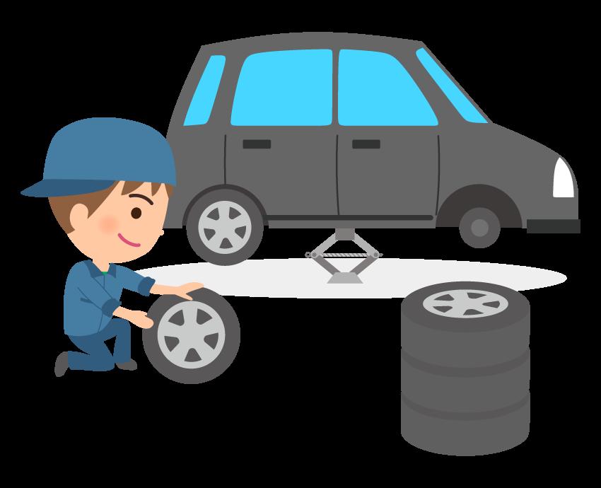 ホイル付きのタイヤ交換が半額に!タイヤ交換ならコバックモリ!車のことならオートモールモリ!!